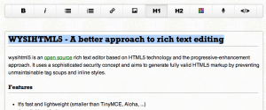 Rich Text Fields in Forms - Web Design With  Net For web designers