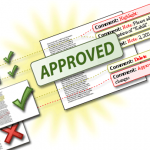 Get your documents approved while you work on the next documents.