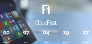CloudFirst Coming Soon